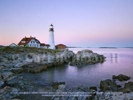 The Portland Head Light in Maine, Maine Coast wallpaper, The Coast of Maine,